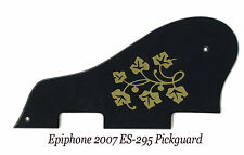 ES 295 ES-295 ES-175 P-90 Black & Gold Floral Pickguard for Epiphone Project NEW