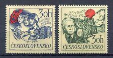 32940) CZECHOSLOVAKIA 1969 MNH** Battle of Dukla 2v