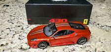 1:18 Hot wheels Super Elite Ferrari 430 scuderia New! VERY RARE Red