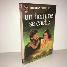 Theresa Charles UN HOMME SE CACHE J'ai Lu n° 1523 LIVRE DE POCHE 1983 - CC13A