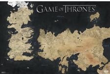 "Game of Thrones MAP  Collector/'s Poster Print 11/"" x 13-1//4/"" B2G1F"
