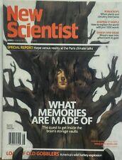 New Scientist November 28 - December 4 2015 Memories Made Of  FREE SHIPPING sb
