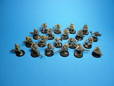 GW Warhammer 40K Chaos Space Marine Cultists x20 Painted Plastic b9