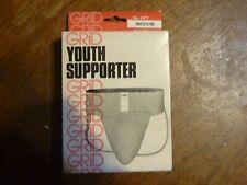 Vintage Grid Youth Supporter Jockstrap Nos Deadstock in Box Medium 1976