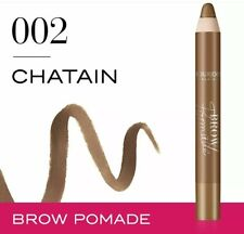 BOURJOIS BROW POMADE EYEBROW DENSIFYING PENCIL 002 CHATAIN NEW FREE P&P SALE
