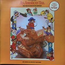 JAMES HORNER - AN AMERICAN TAIL - SOUNDTRACK  LP MINT