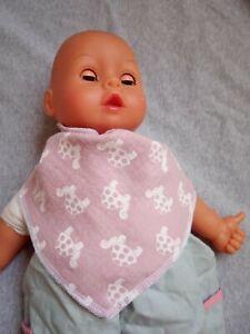 Halstuch Baby Spucktuch verstellbar Schildkröte Junge Mädchen neu Handmade bunt
