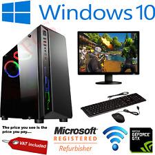 ULTRA FAST Gaming PC Bundle Intel Core i5 2300 16GB 1TB Windows 10 2GB GT710