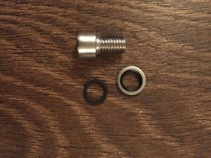 Audi A4 coolant bleed screw bolt Upgraded Part WHT000316