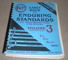 TIN PAN ALLEY VINTAGE SONG BOOK Volume 3 60's Rock & Standards 40s 50s 650 SONGS