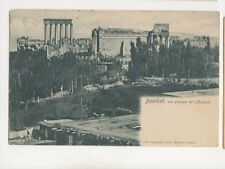 Baalbek Acropole Lebanon Vintage U/B Postcard 292b