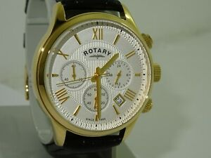 rotary mens chronograph watch GB00646/70
