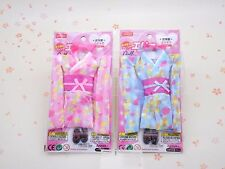 9 inch Doll Japan KIMONO FURISODE #1 x 2 for ELLY DOLL Licca Neo Blythe... DAISO