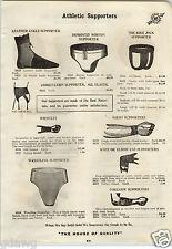 1913 PAPER AD Morton Bike Wrestling Type Jock Strap Athletic Supporter