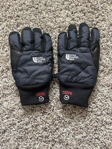 North Face Goat Leather Summit Series Filled Winter Gloves Medium Unisex NWOT