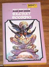 ALAN BURT AKERS*Kenneth Bulmer*Secret Scorpio DRAY PRESCOT#15 DAW#269
