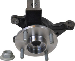 Wheel Hub Bearing & Steering Knuckle Assembly Left For FORD FOCUS 2006-11