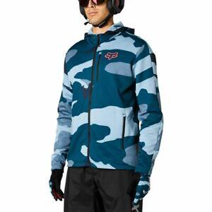 Fox Racing MTB 2021 Ranger Tech Fleece Jacket Blue Camo