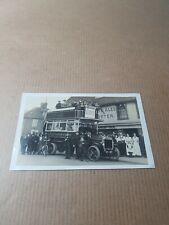 More details for old rp postcard. kent. sittingbourne  double deck bus.  l/4238