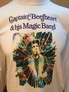 CAPTAIN BEEFHEART MIRRORMAN MUSIC T SHIRT  Zappa