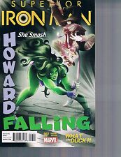 Superior Iron Man #7 Howard WHAT THE DUCK?! Variant Cover 2015 Marvel Comics