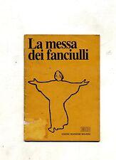 LA MESSA DEI FANCIULLI # Edizioni Dehoniane Bologna 1986