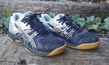ASICS Gel-Rocket Men's Silver & Black Court Shoes Size 5