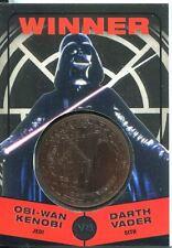 Star Wars Chrome Perspectives II Bronze Medallion Winner Darth Vader [B]