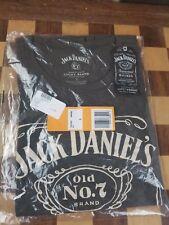 Lucky Brand - Men's S - New Retro Black Jack Daniels Whisky No 7 Cotton T-Shirt