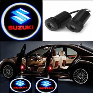 2X LED Car Door Welcome Light HD Logo Courtesy Projector Ghost Laser Suzuki