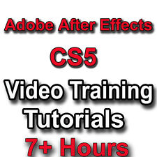 Adobe After Effects CS5 Video Training tutorials CBT - 7+ Hours