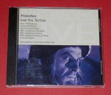 Prokofiev - Ivan the Terrible (Leonard Slatkin) -- CD / Klassik