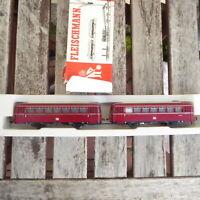Fleischmann 4420 H0 Schienenbus VB 98+ VS 98 DB Epoche 4 mit Beiwagen in OVP