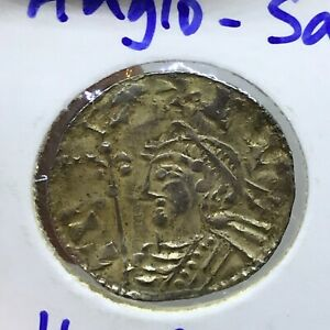 England 1 penning 1016-1035 Cnut the Great Anglo-Saxon Silver Penning #1