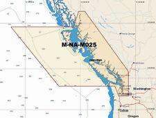 - map W48 NT Max C M-NA-M025 tabla de área amplia Tarjeta-Canadá West C