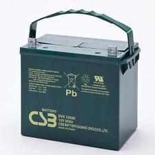 CSB EVX 12520 Cyclic Sealed Lead Acid Battery 12V 52Ah EVX12520 SLA