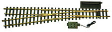 USA Trains 81615 G Scale #6 Remote Left Hand Switch Solid Brass Rail