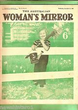 #T74.  THE AUSTRALIAN WOMAN'S MIRROR, NOV. 21st 1956, THE PHANTOM