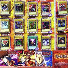 McDonald's 2002 Yu-Gi-Oh! YuGiOh 15 full set + 3 CD Cosmo Queen MillenniumShield