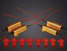 4pcs 50W 6Ohm LED Load Resistor Fix Turn Signal Blinker Fast Flash 1157 DC12V US