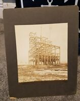 ORIGINAL MADEIRA COAL BREAKER UNDER CONSTRUCTION PHOTOGRAPH PENNSYLVANIA