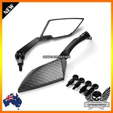10MM 8MM universal rear view side mirrors Yamaha WR250 WR450 WR400 WR450F carbon