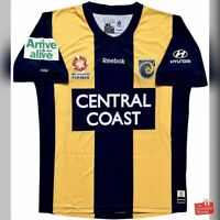Authentic Reebok Central Coast Mariners 2009/10 Home Jersey. BNWOT, Size S.