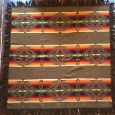 Vintage Pendleton Antique Trade Blanket 1920s Third Label 1921 Wool Indian 65x67
