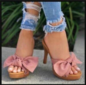 The Daisy Duke slide on heels!!!!
