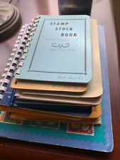 Stamp Stock Books - No Stamps still in Good Condition Free Shipping