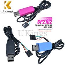 Compatible cable de descarga WIN10 PL2303TA/CP2102/CH340G Genuino RS232 USB a TTL