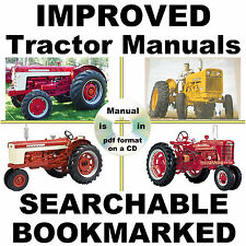IH International Harvester 756 & 856 Tractor Service Manual BEST = SEARCHABLE CD