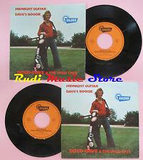 LP 45 7'' DISCO-DAVE & THE WILD CATS Midnight guitar Dave's boogie cd mc dvd