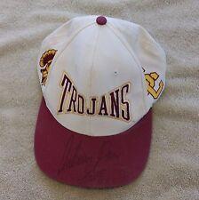 USC Trojan Hat Signed Anthony Davis Autograph Trucker Baseball Nike Football